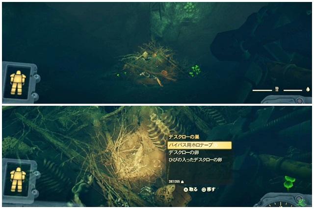 デスクローの巣