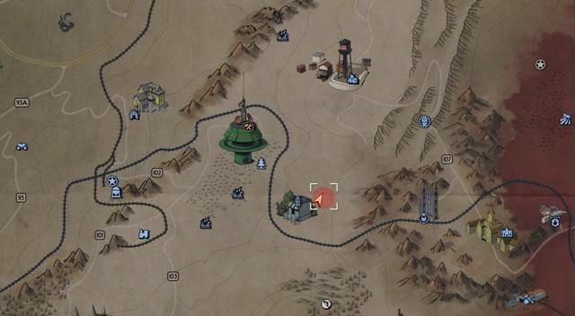 荒れた境域7の宝の場所