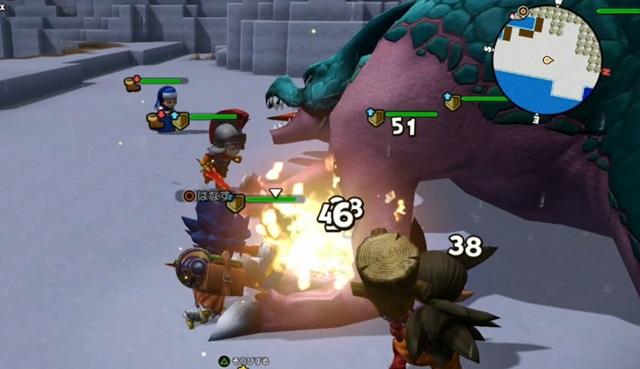 キースドラゴンと対戦