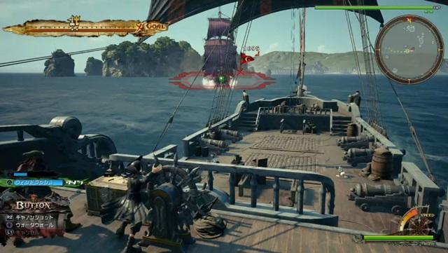 敵の船を砲撃