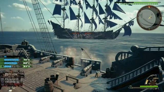 ルクソードの船を狙って砲撃
