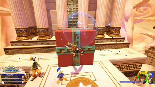 大きな赤いプレゼント箱