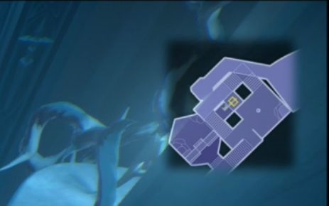 氷の迷宮の地図の場所