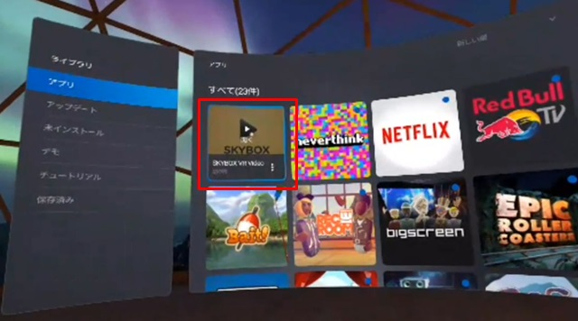 SKYBOX VR Video